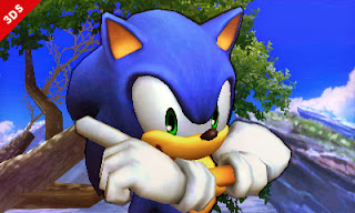Sonic - Super Smash Bros 3DS