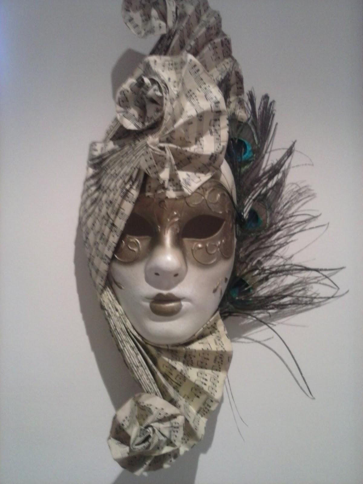 Martha antiques m scara veneciana - Mascaras venecianas decoracion ...