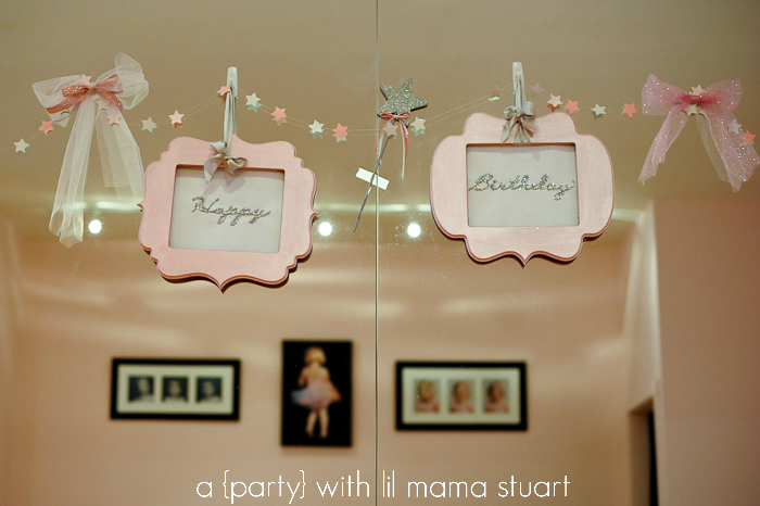 a day with lil mama stuart Princess Ballerina Birthday Party