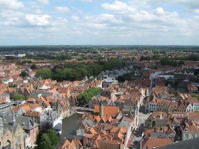 Vista de Brujas desde la Torre