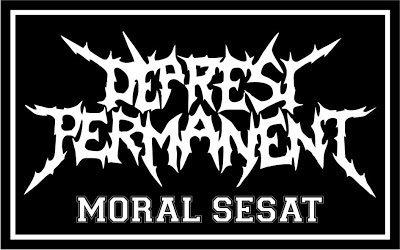 Depresi Permanent Band Grindcore Malang Logo Artwork Wallpaper