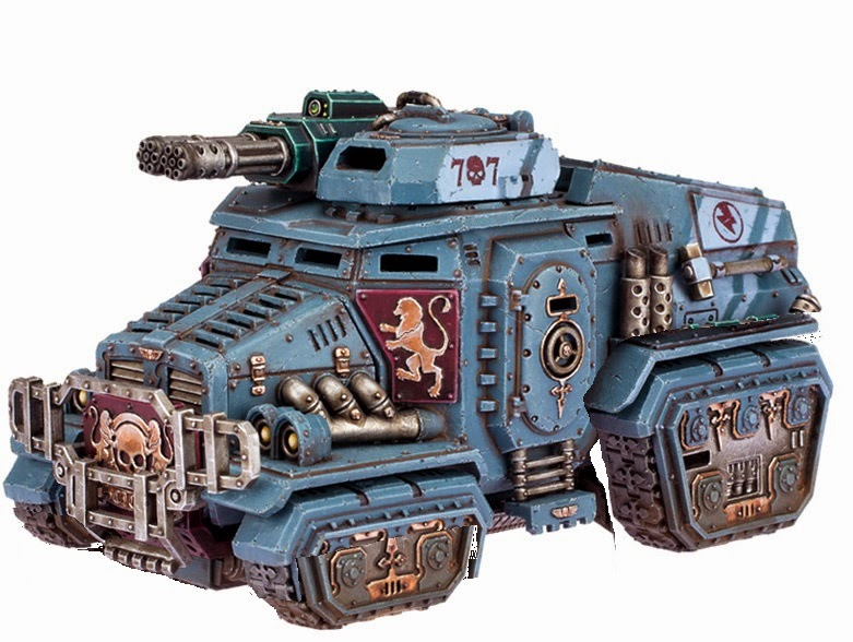The Thunder Guard: Taurox Conversion: Lowering ya ride