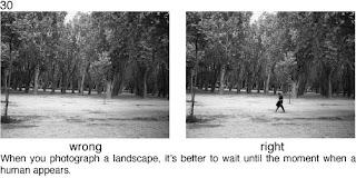 Совет 30. При съемке пейзажа, лучше поймать момент, когда в кадре окажется человек. Это придаст снимку жизни.