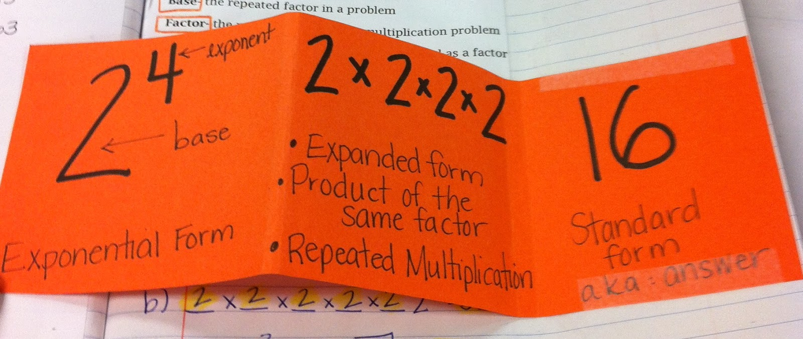 Powers And Exponents (1.2) - Lessons - Tes Teach