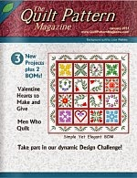 Quilt Pattern Magazine