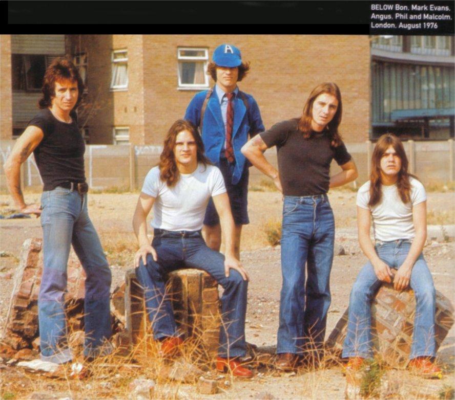Stevie Johnson Tattoos Rock On Vinyl: AC/DC -...