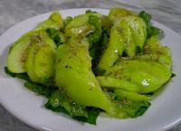 Salada de Chuchu e Rúcula (vegana)