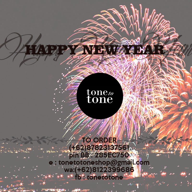 Happy New Year for ToneToTone