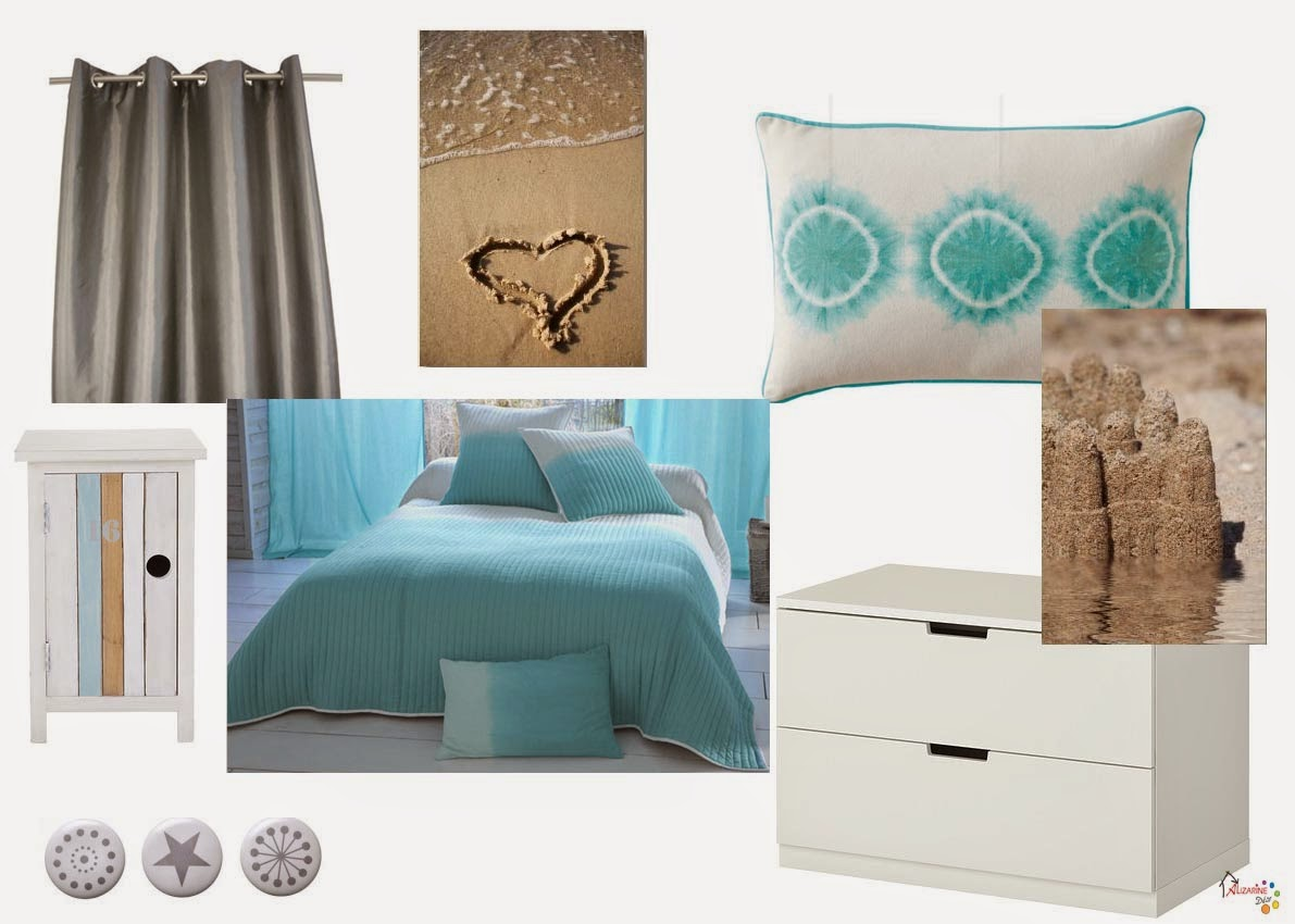 le blog d 39 alizarine d co le ciel la mer et le soleil. Black Bedroom Furniture Sets. Home Design Ideas