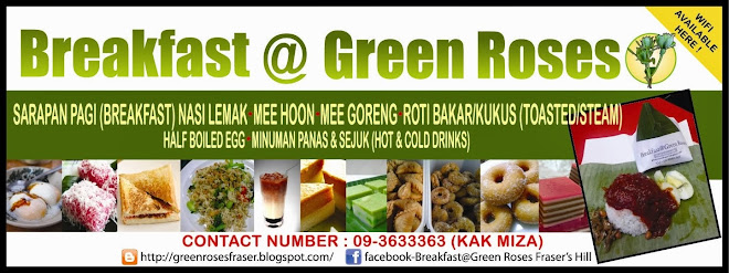 Breakfast @ Green Roses