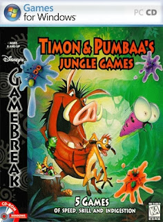 Disneys Timon e Pumbaas Jungle Games   PC