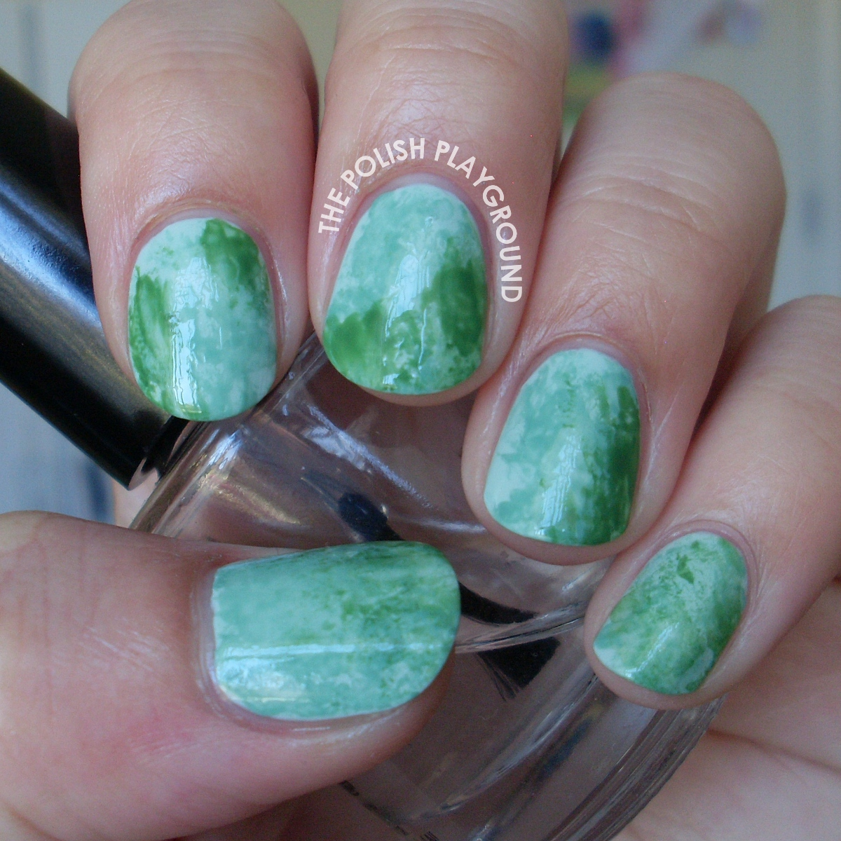 The Polish Playground: Lucky Jade Nail Art