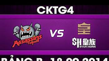 CK Thế Giới 2014 – Bảng B, TPA vs SHR
