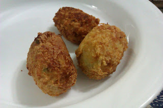 Potato & Chicken Croquettes