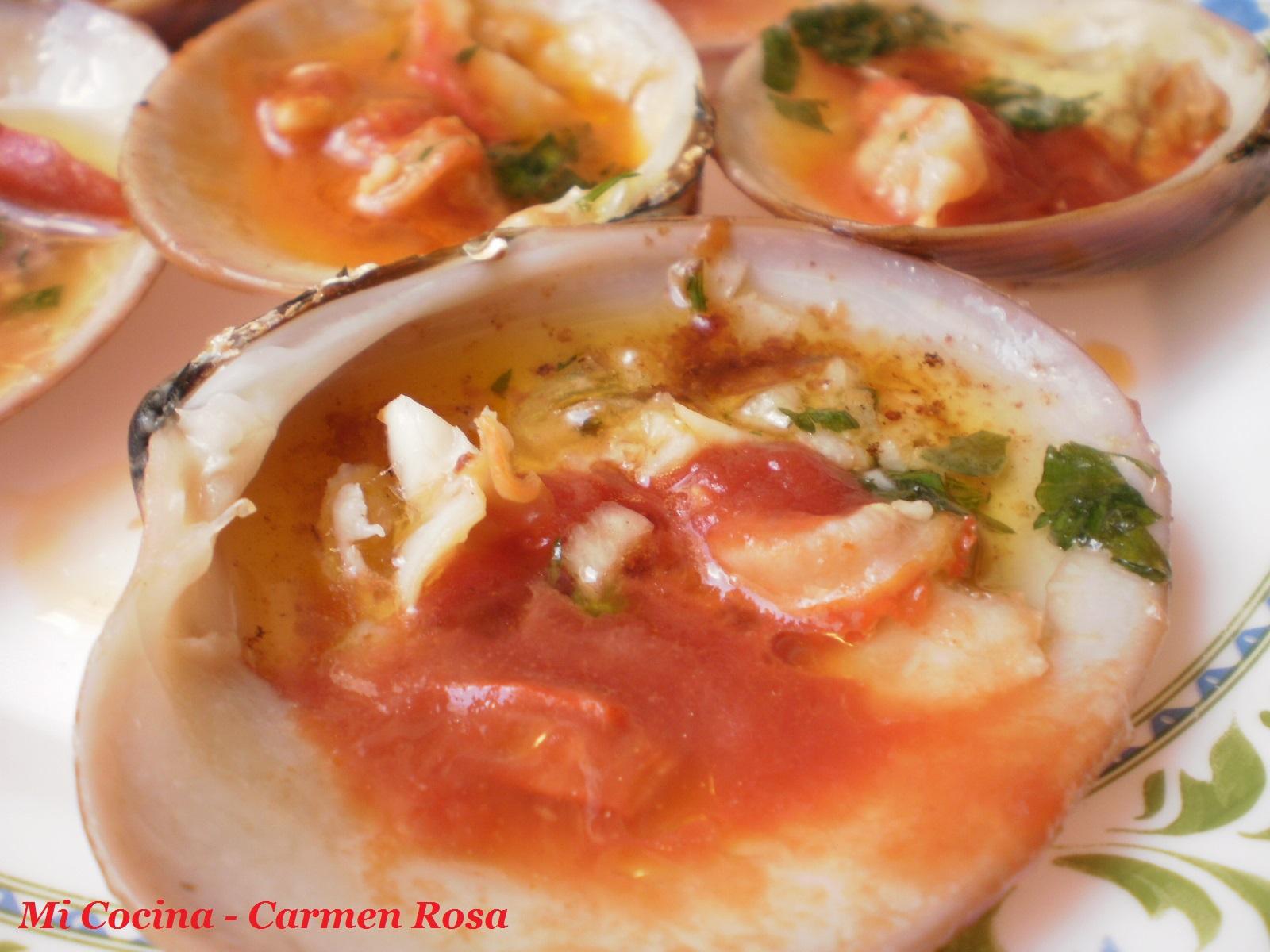 Mi cocina conchas finas a la plancha con mostaza y ketchup for Mi cocina malaga