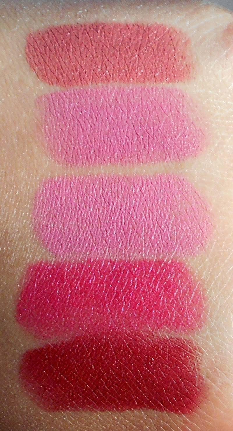 Maybelline Color Sensational Creamy Mattes Lipsticks