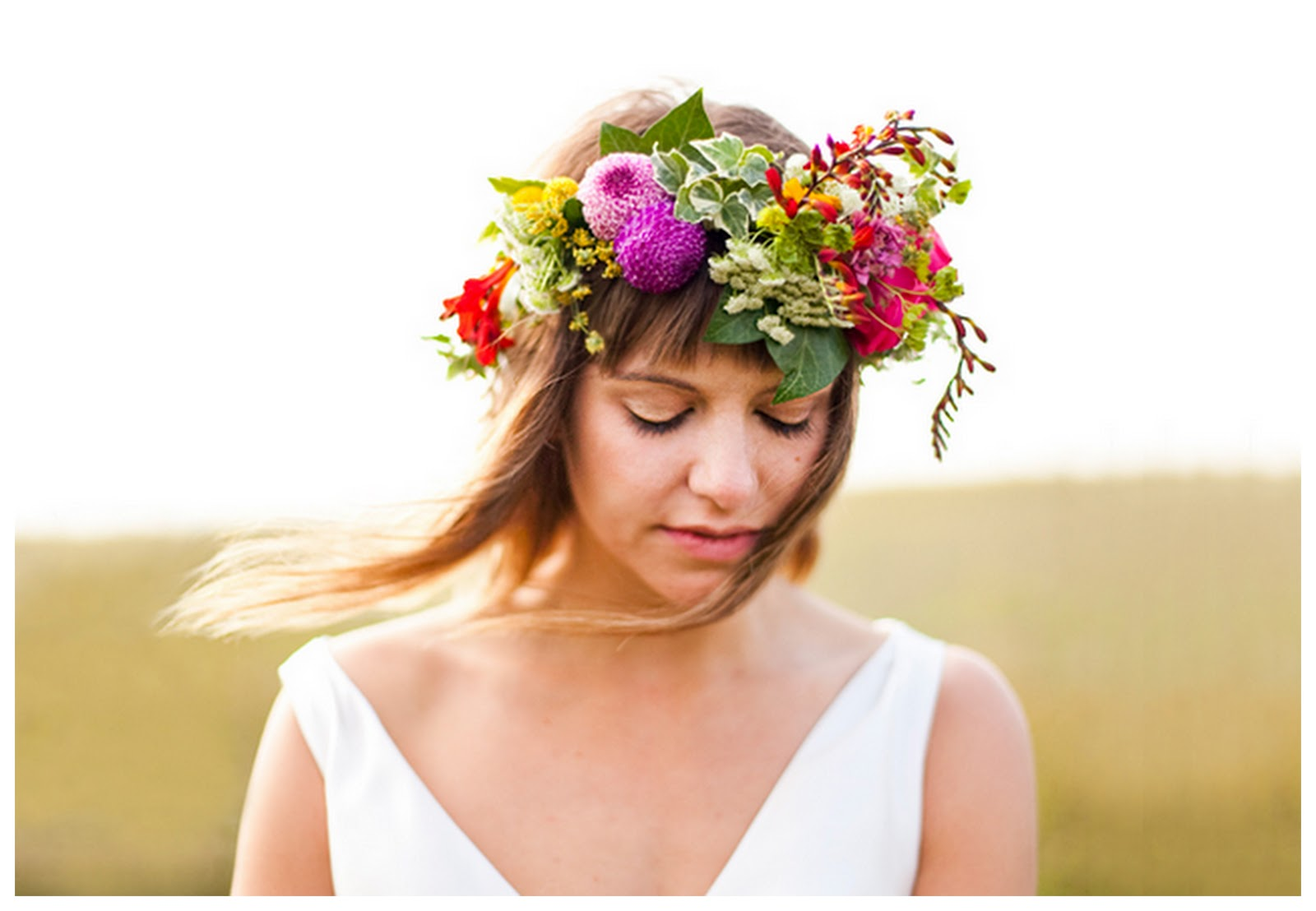 Perfect wedding bridal flower crowns bridal flower crowns izmirmasajfo Image collections