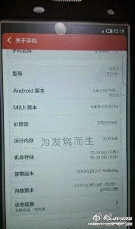 Xiaomi siapkan Mi3S sebagai generasi penerus Mi3