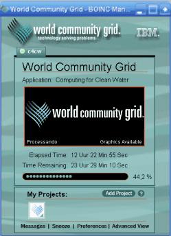 Software boinc ajuda ciencias mundial