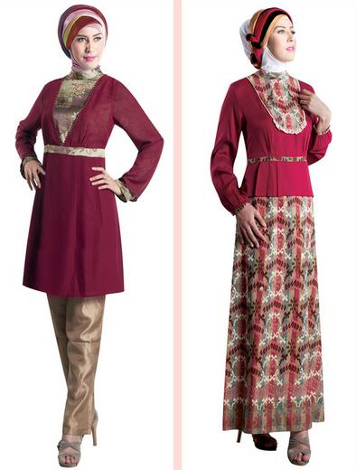 Baju Brokat Muslim Modern 2015