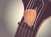 Bamboo Guitar Pick