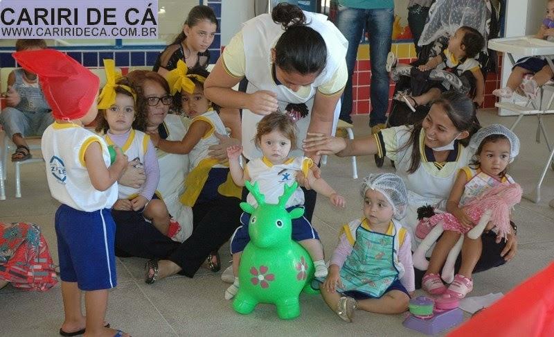 Escola de Ensino Infantil de Zabelê comemora Dia do Folclore