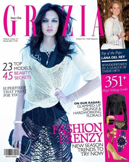 Jyothsna Chakravarthy Grazia Cover1 - Jyothsna Chakravarthy on the cover of Grazia (March 2012) 