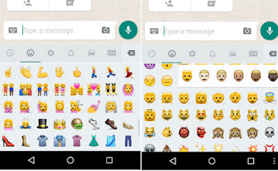 WhatsApp New emojis and more skin tones