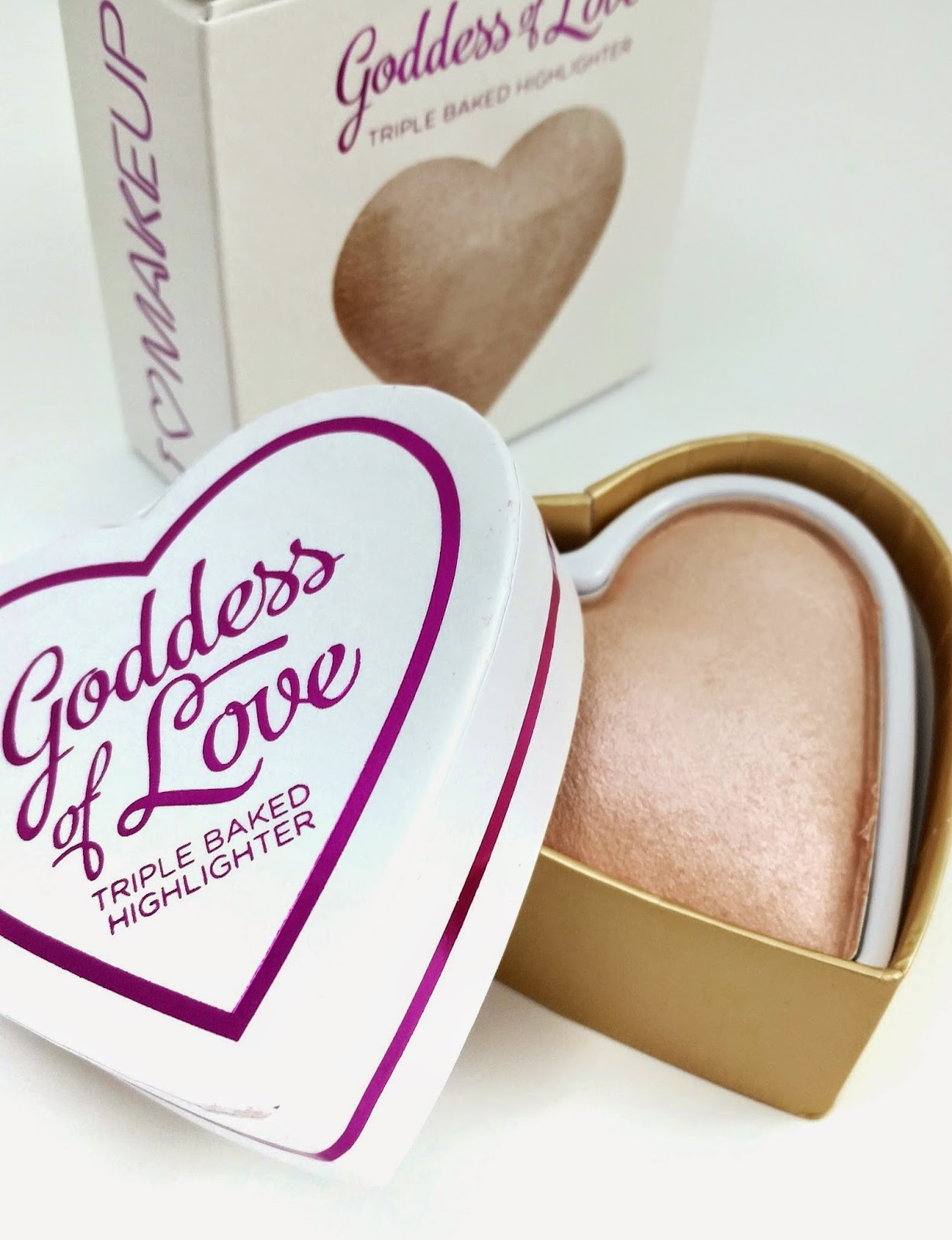 Makeup Revolution Goddess of Love Review Swatches