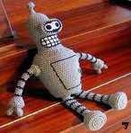free pattern amigurumi Bender robot futurama