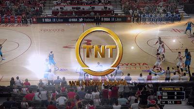 NBA 2K14 TNT Transition Wipe Screen Mod