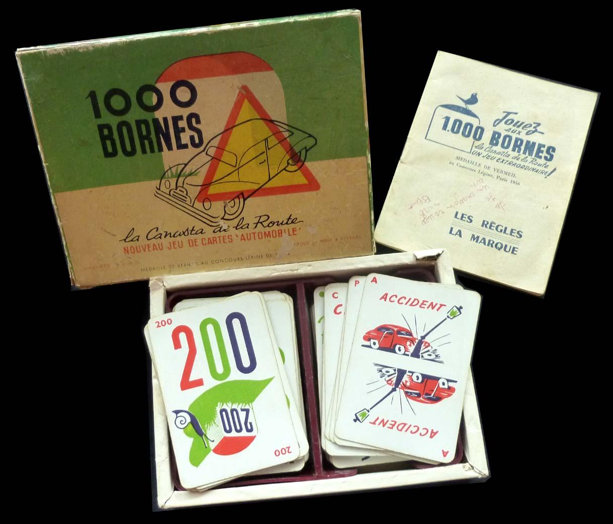 Le grenier de pascal 1000 bornes 1954 - Coup fourre mille bornes ...
