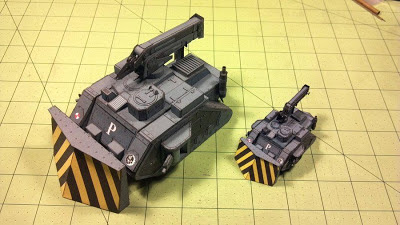 Warhammer 40K – Atlas Purgare Recovery Vehicle Papercraft