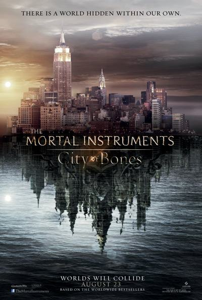 The Mortal Instruments: City of Bones - Hits Theaters AUGUST 23, 2013!