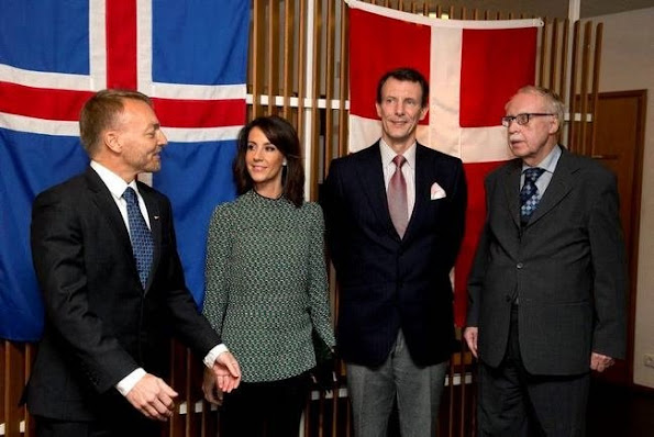 Prince Joachim and Princess Marie of Denmark started a visit to Iceland that will last for one or two days within the scope of celebrations of 100th anniversary of establishment of the Denmark-Iceland Association