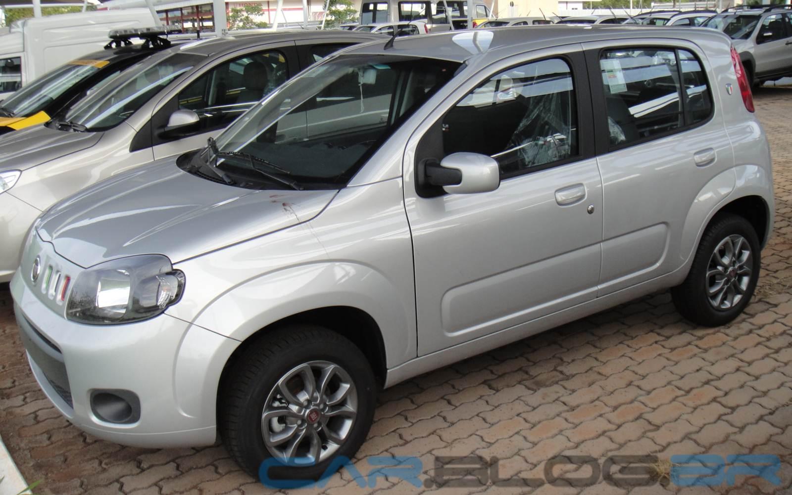 Fiat Uno - 2º colocado em vendas no Brasil em 2014