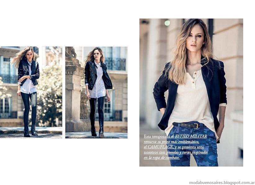 Moda urbana otoño invierno 2015 mujer. Markova otoño invierno 2015.