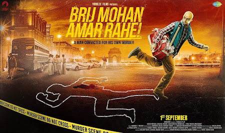 Poster Of Hindi Movie Brij Mohan Amar Rahe 2018 Full HD Movie Free Download 720P Watch Online
