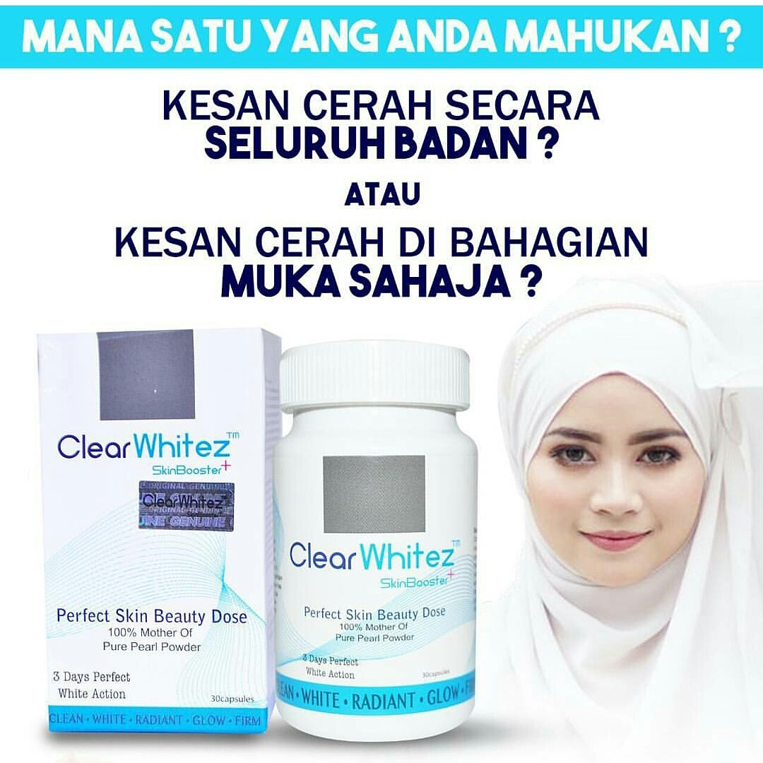 CLEARWHITEZ SKIN BOOSTER READY READY READY STOCK 013-3045279