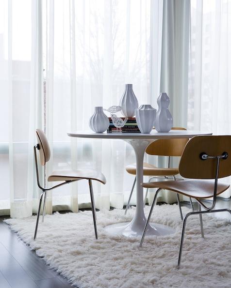 A Style Icon The Eero Saarinen Tulip Table Cozy