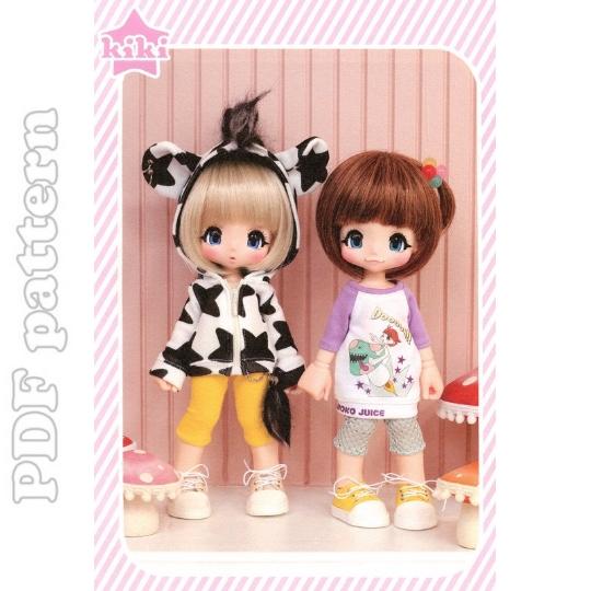 Cute Kawaii Outfits & Shoes 23cm ( 9.1\