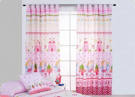 Cortinas para habitaciones infantiles imagui for Ideas para cortinas infantiles