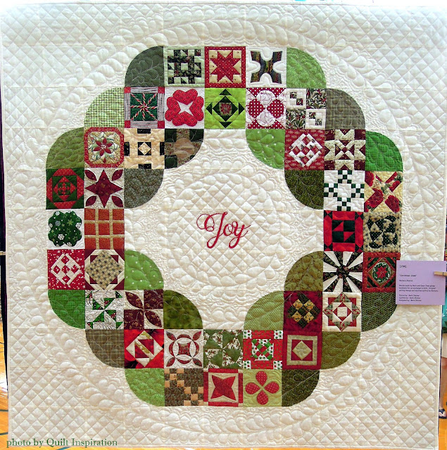 Twelve days of Christmas Quilts: Christmas Jane