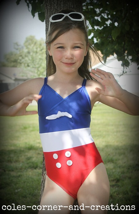 Just love these suits i love the retro all american girl next