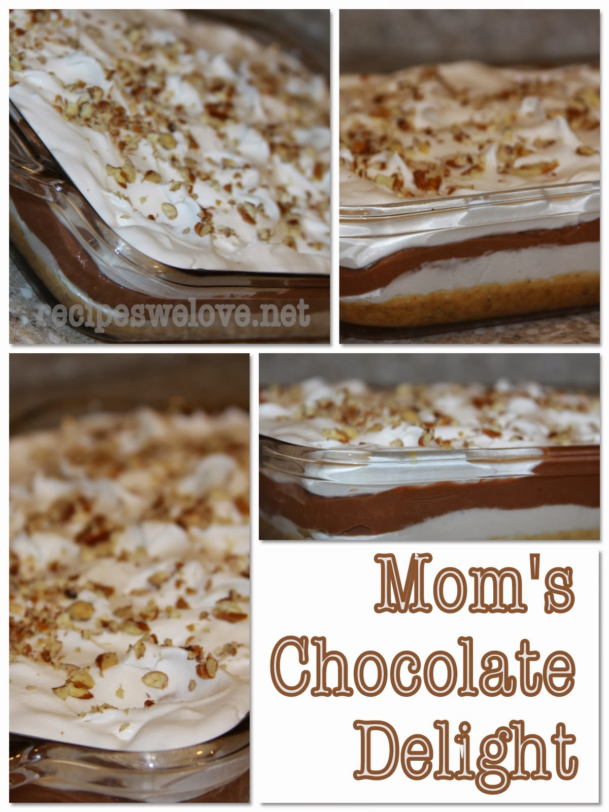 Recipes We Love: Mom's Chocolate Delight