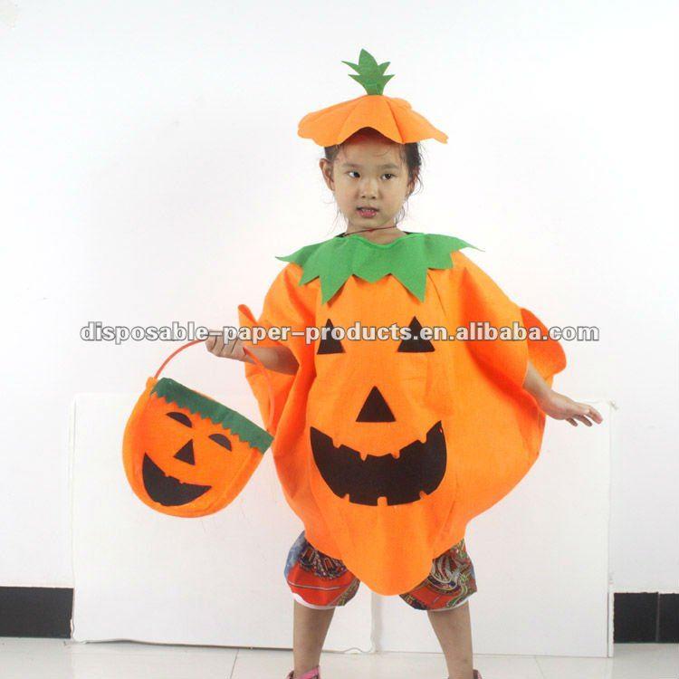 Disfraz Calabaza Halloween Casero Cheap Para Halloween Brujas