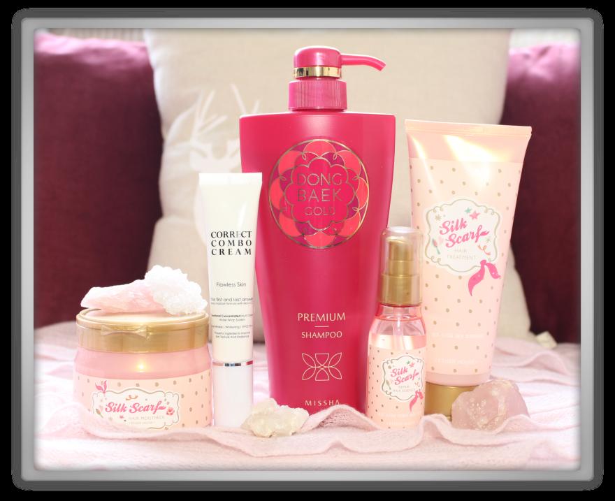 Jolse cosmetics korean haul review youtube video etude house silk scarf hair missha dong baek gold shampoo cheap products december mizon 1