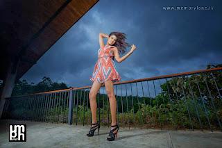 Ashini Perera long legs