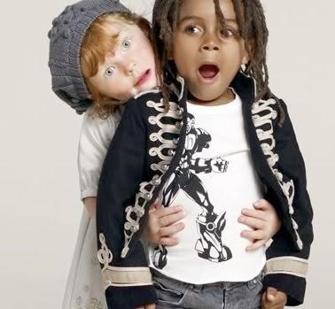 Nomes modernos para meninos - 2013Gap Kids Stella Mccartney