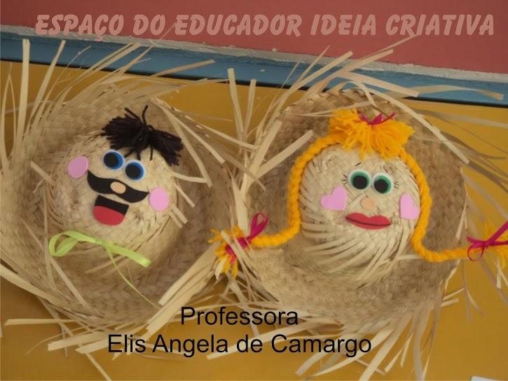 decoracao de sala festa junina educacao infantil : decoracao de sala festa junina educacao infantil:Abaixo as bandeirolas feitas pelos alunos com ajuda da professora